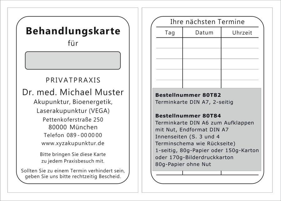 Vorderseite gl/änzend F/ür Fu/ßpflegesalon Fu/ßpflege Pedik/üre 8 Termine pro Karte = 800 Termine 100 Terminkarten Scheckkartenformat FU779